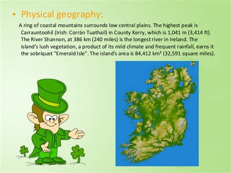5 themes of geography ireland ireland 5th group