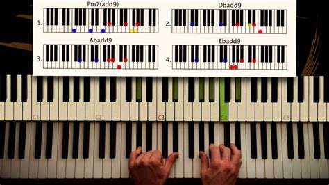 tutorial keyboard all of me how to play all of me john legend part 2 chorus