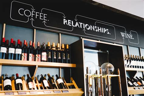 coffee shop wall design black white red photos by andrew newson engaging interiors
