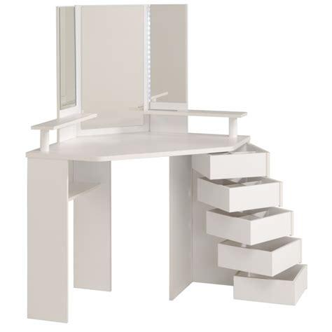schminktisch ecke coiffeuse d angle volage 12 ton blanc sb meubles discount