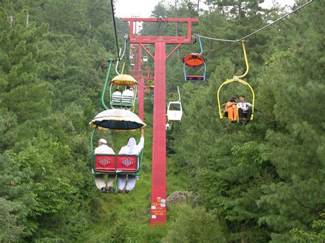 hilly areas of the world murree chair lift