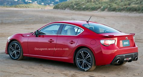 4 Door Toyota 86 Scion Fr S Or Toyota Gt 86 Rendered As A Four Door Coupe