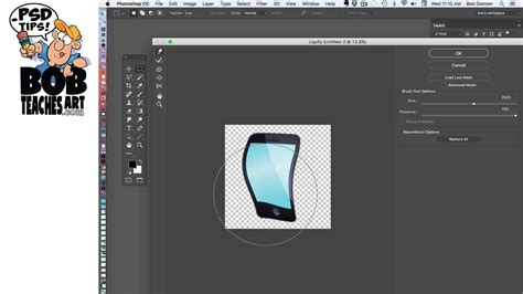 adobe photoshop liquify tutorial how to use the photoshop liquify filter for illustration