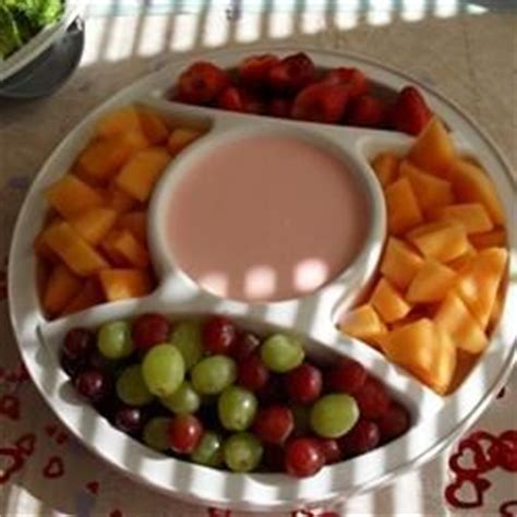 Dips For Baby Shower by Baby Shower Raspberry Dip Recipe Allrecipes
