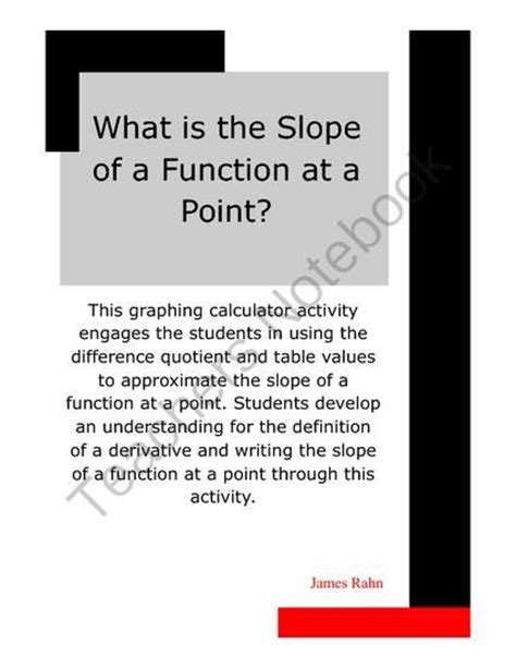 120 best images about math slope linear functions on activities cornell notes and