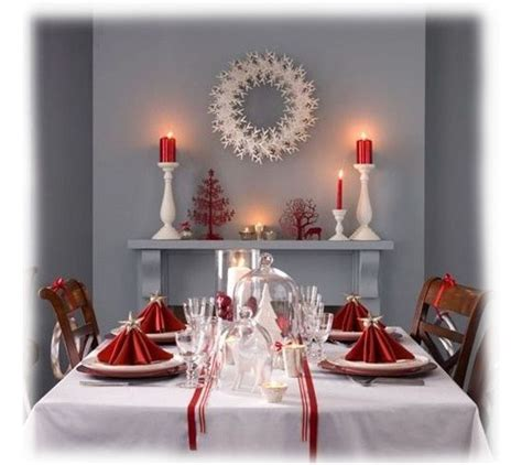 decorar mesa de comedor de navidad mesa navidad con mantel blanco decoraci 243 n navide 241 a