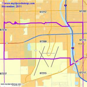 Wichita Zip Code Map by Zip Code Map Of 67209 Demographic Profile Residential