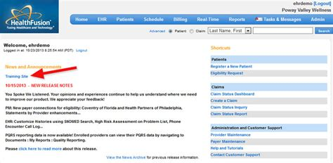 meditouch ehr software customized for practices needs log in healthfusion meditouch