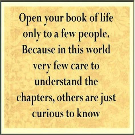 stay open follow your books open your book of only to a few because in