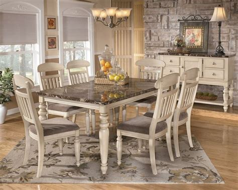 Casual Dining Room Looks Dining Room Sets Buy Manadell Casual Dining Room Set By