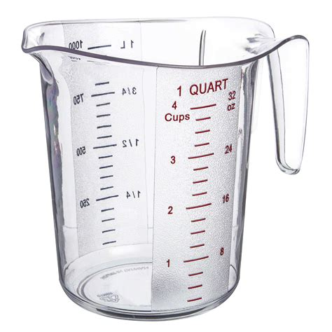 1 quart equals how many cups