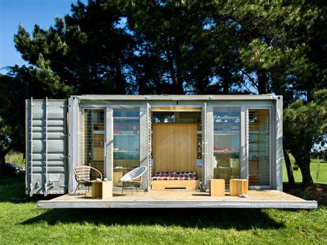 Small Sustainable Homes Nz Construcci 243 N Modular Casa Modular De Vacaciones