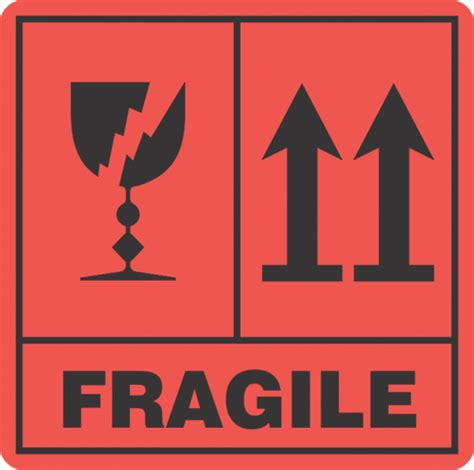 Aufkleber Zerbrechlich by Fragile This Way Up X500 Labels Fragile Don T Crush