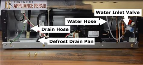 What Causes Water Leak In Refrigerator by Refrigerator Repair And Parts Point Click Appliance Repair