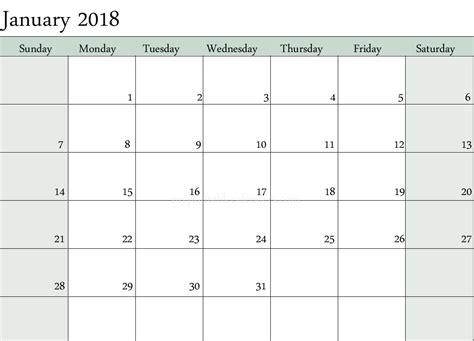 Printable Writable Calendar