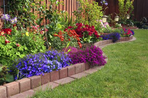 Flower Garden Fencing 25 Magical Flower Bed Ideas And Designs