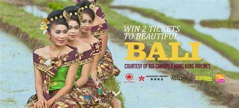 Vacation Giveaways Canada - win trip to bali for 2 7 000