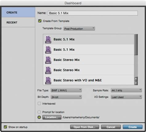 Avid Pro Tools 12 3 Pro Tools 12 Templates