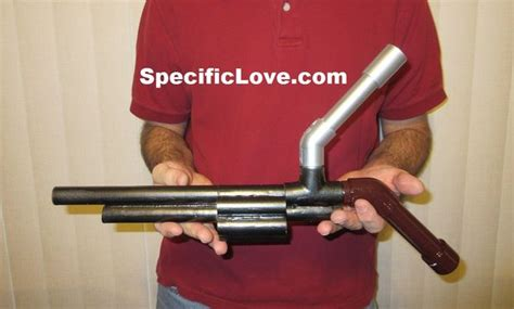 How To Make A Marshmallow Gun Out Of Paper - pvc revolver marshmallow gun blowgun diy all
