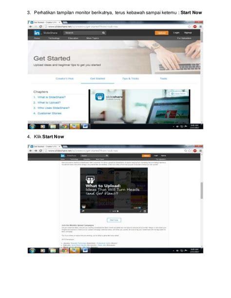 tutorial upload web ke internet tutorial upload file ke slideshare net