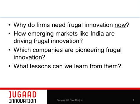 Innovation Mba Jefferson What Does It Cost by Frugal Innovation A New Disruptive Business Paradigm