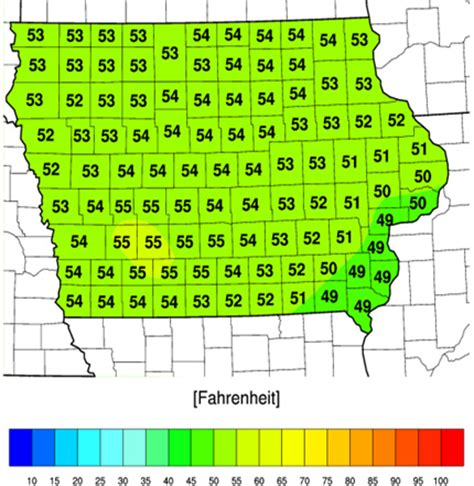 iowa state soil temperature map warm fall temperatures scn and winter annual weeds