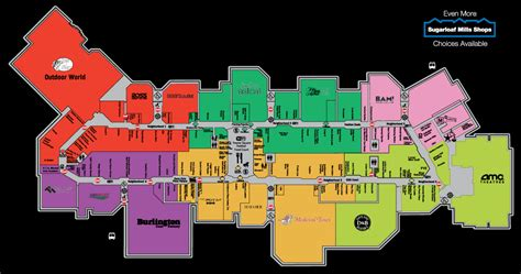 map of the mall of the battles of jamieboo malls the mills