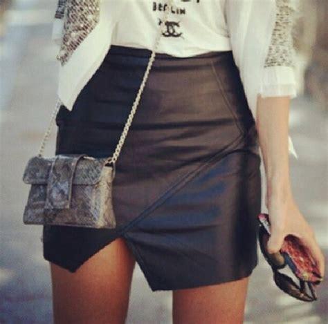 skirt leather skirt envelope skirt envelope leather