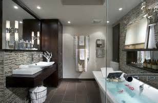 Bathrooms By Design Hgtv Design With Candice Takes On Modern