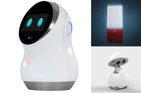 best smart home robots of ces 2017 including lg s hub