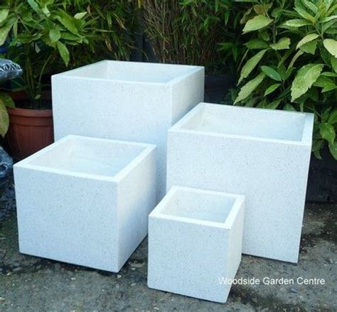 Large White Garden Planters 10 Best Images About Lightweight White Black Terrazzo