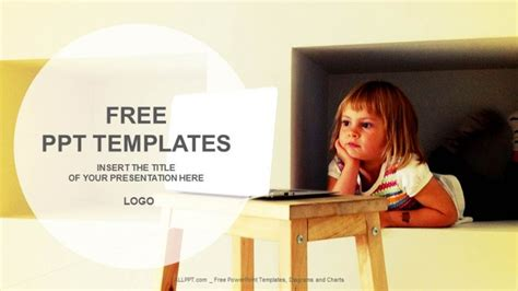 Free Education Powerpoint Templates Design Computer Education Ppt Templates Free