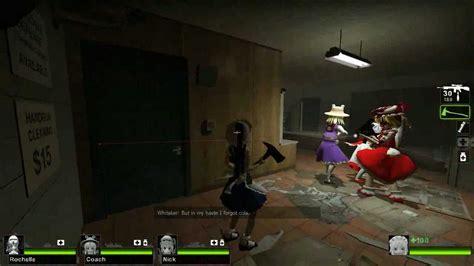 mod game left 4 dead left 4 dead touhou mod youtube