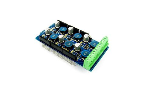 Arduino Stackable Header Shield 4p 4 Pin 254mm 3 6 channel led shield for arduino 0 35 0 7 1a from conceptinetics on tindie