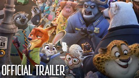 zootopia official trailer 2