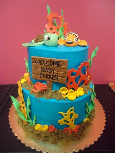Nemo Baby Shower by Finding Nemo Baby Shower Cake Www Imgkid The Image