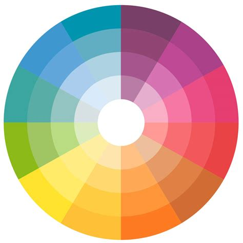 Waitsfield Elementary Art Color Wheels Color For
