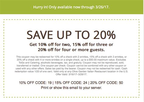 Coupon Code For Olive Garden by Olive Garden Printable Coupons August 2018 Spa