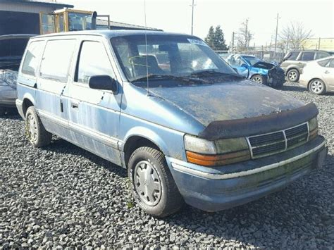 blue book value used cars 1992 dodge d150 windshield wipe control auto auction ended on vin 2b4fh2537nr694570 1992 dodge caravan in or eugene