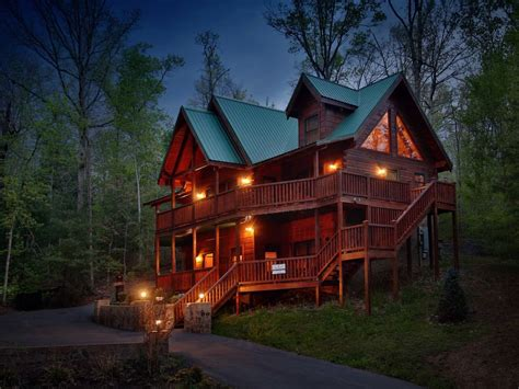 Smokey Mountain House Rentals by Smoky Mountain Getaway A Five Bedroom Cabin Vrbo
