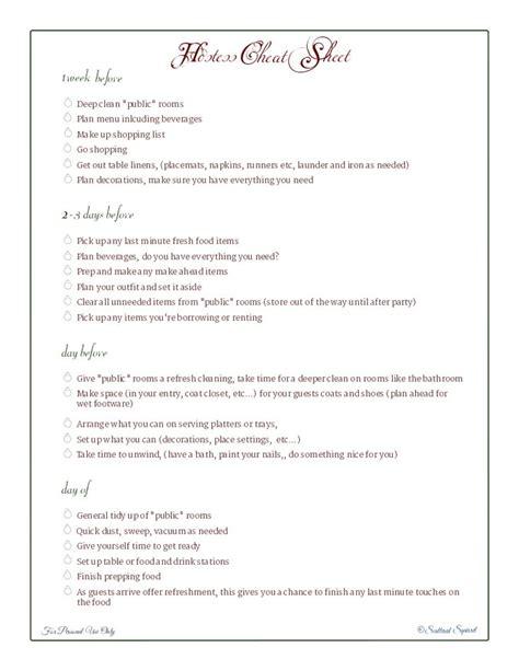 Wedding Hostess Checklist by Wedding Planner Wedding Hostess Checklist