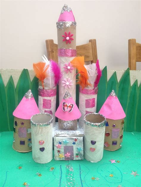 toilet paper roll castle craft toilet paper roll crafts castle