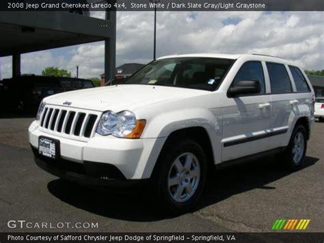 2008 Jeep Laredo 4x4 White 2008 Jeep Grand Laredo 4x4