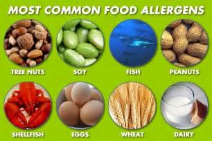 Severe food allergies can be life threatening 8 most