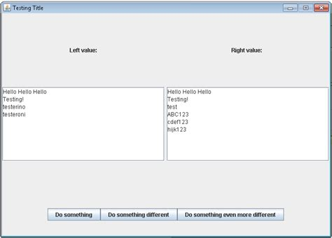 java swing gridlayout how do i create the following gui in java swing java