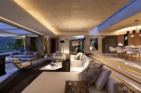 living room in mansion world of architecture amazing mansion house by saota overlooking the city and ocean cape town