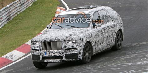 rolls royce project cullinan 2019 rolls royce project cullinan suv spied photos 1 of 3