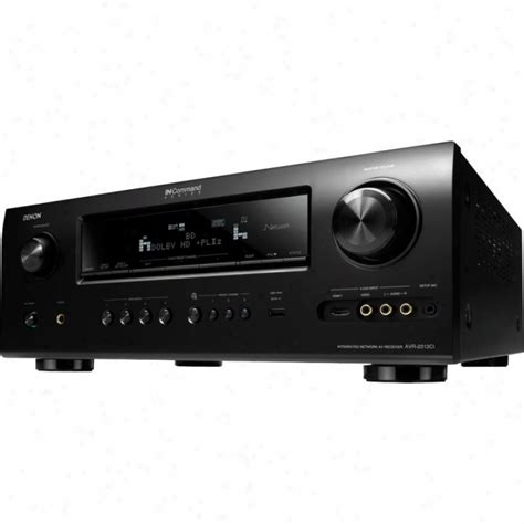 Home Audio Receiver by Denon 7 1 Channel Audio Home Theater Receiver