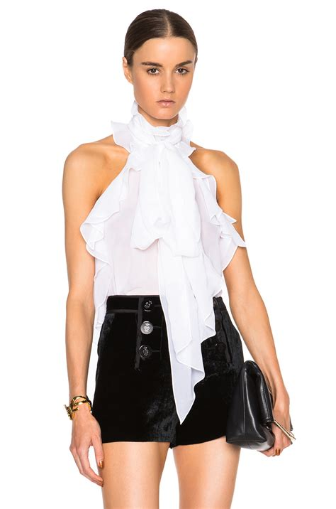 Dressy White Blouses With Ruffles by Mens Ruffled Blouse Black Dressy Blouses