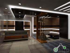 office reception wall interior design design information